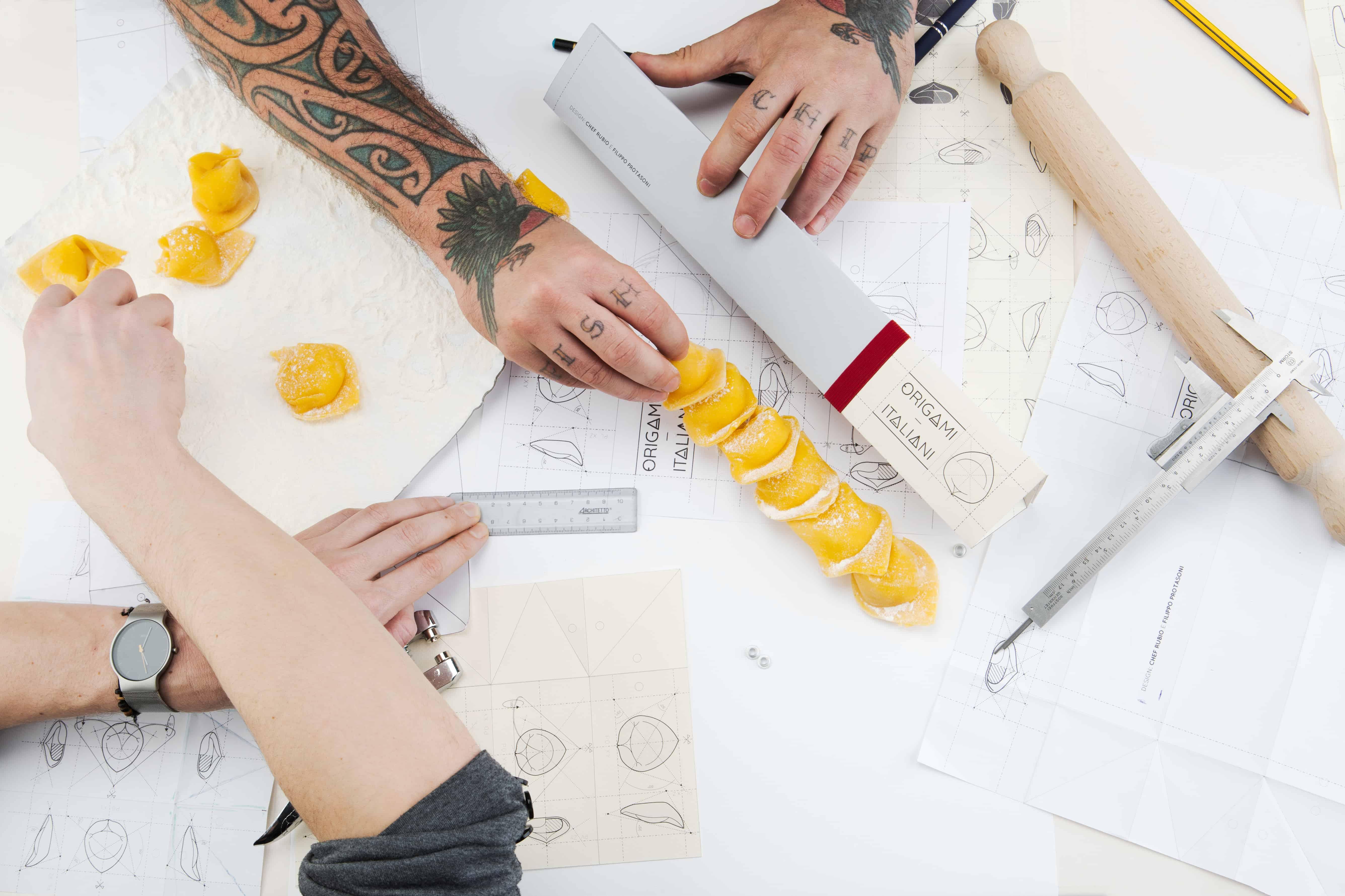 ravioli origami italiani chef rubio
