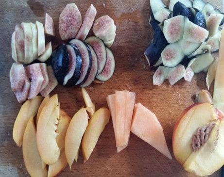 frutta fresca crostata