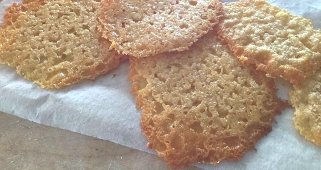 Chips di Parmigiano Reggiano delle Vacche Rosse