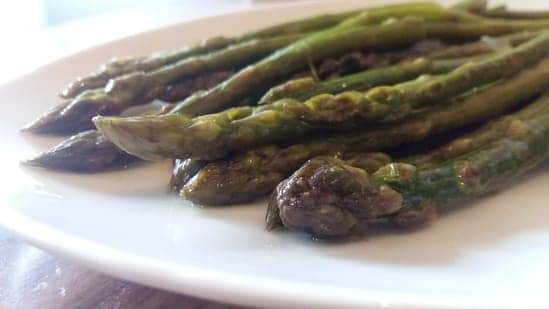 salsa di asparagi e feta