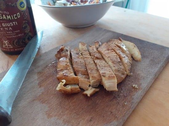 filetti di pollo all'aceto balsamico Giusti