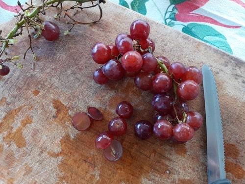 uva nera conservati